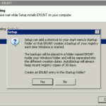 How to backup your registry and maintain multiple copies