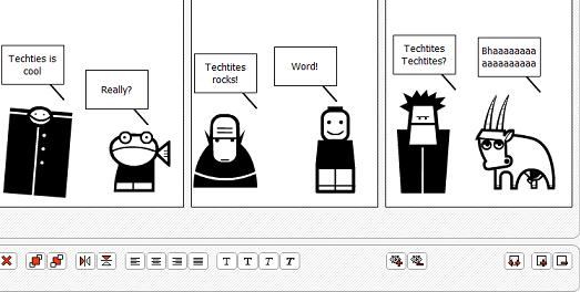 Create your own Comic Strip Online » Techtites