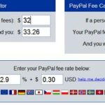 Calculate PayPal Fee with PayPal Fee Calculator