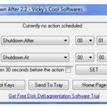 Schedule PC Shutdown with Shutdown After
