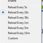Automatically Reload Web Pages with ReloadEvery