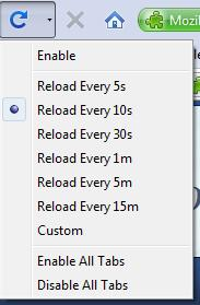 Reload Options