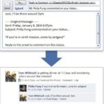 Reply FaceBook Comments Through Email Now