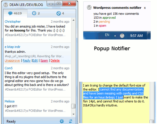 wp-comments-notifier