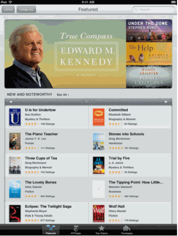 Download And Read Books On iPad For Free With iBooks | Techtites