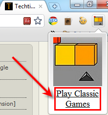 How to Play Classic Games in Google Chrome [Extension