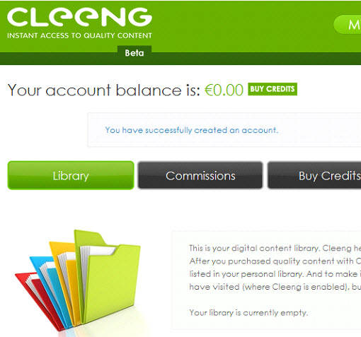 Cleeng: A web service that helps you increase your site income