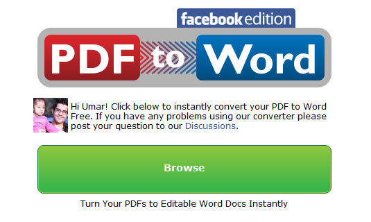 How To Convert PDF Files To Word On Facebook