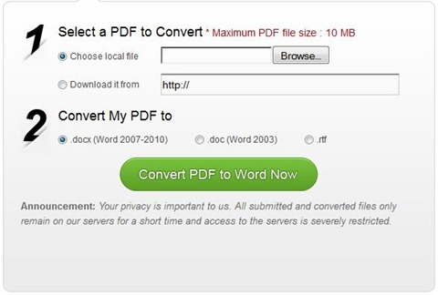 Convert Pdf Files To Editable Word Documents With Wondershare Free