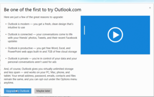 Outlook.com - Be the first to know