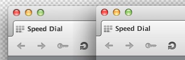 Opera high-resolution display