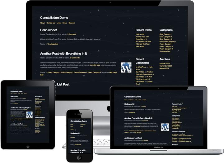 Constellation WordPress Theme