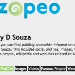 Find people online with Zopeo