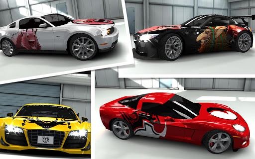 CSR Racing - Customise your car