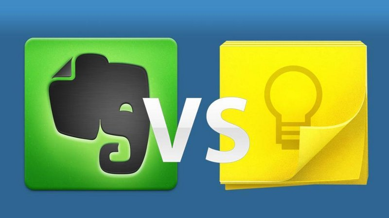 Google Keep vs. Evernote, Google Keep and Evernote comparison