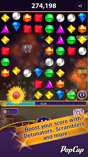 Bejeweled Blitz - Boost your score