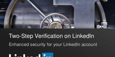 LinkedIn Two Step Verification