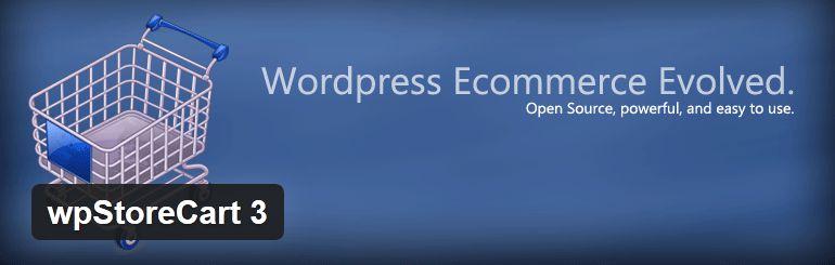 wpStoreCart Ajax e-Commerce plugin for WordPress