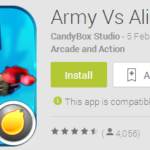 Featured Game: Army Vs Aliens Defense