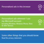 How to stop personalised ads from Microsoft
