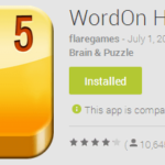 Game for the weekend: WordOn HD