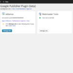 Google Publisher Plugin released: Supports Adsense and Webmaster Tools