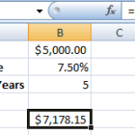 Data Tables in Excel tutorial