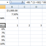 Two Variable Data Tables in Microsoft Excel Tutorial