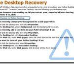 One Click Restore of Windows Desktop with Desktop Hijack Fix