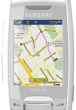 Helio and Google Maps for Mobile