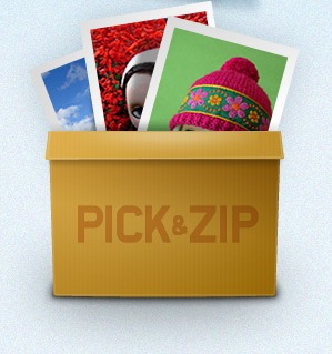 Download photos from Facebook with Pick&Zip
