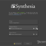 Learn how to play the piano with Synthesia