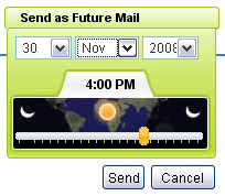 Send as Future Mail