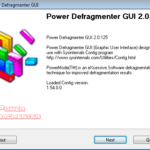 Power Defragmenter GUI + Contig (Tool Thursday)
