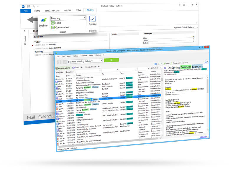 Lookeen Desktop Search