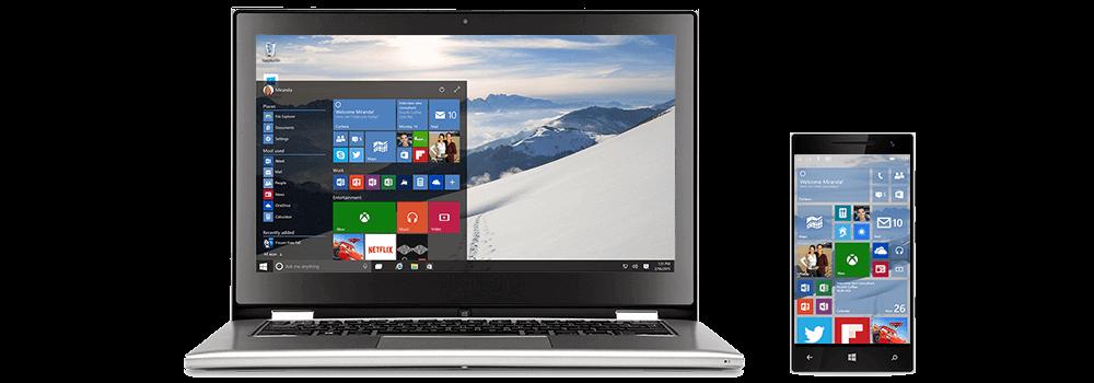 Windows 10 - Start screen