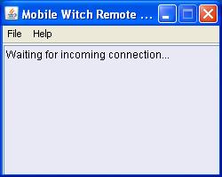 Mobile Witch Remote Control PC Server