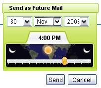 Send as Future Mail