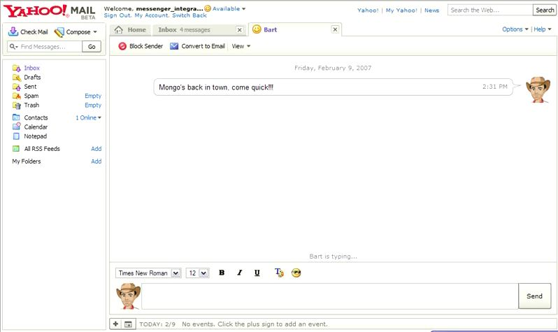 Yahoo! Mail + Chat » Techtites
