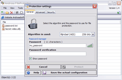 AndrosaSoft FileProtector