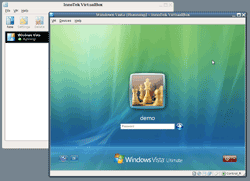 Microsoft Vista in a VirtualBox